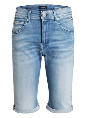 REPLAY Jeans-Shorts HYPERFLEX Super Slim Fit