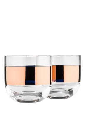 Tom Dixon 2er-Set Whisky-Gläser TANK