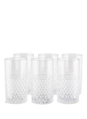 Bloomingville 6er-Set Longdrinkglas
