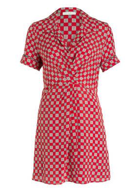 sandro Hemdblusenkleid aus Seide