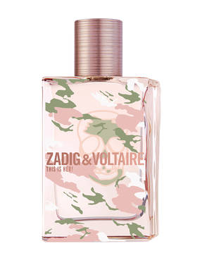 ZADIG & VOLTAIRE FRAGRANCES THIS IS HER! NO RULES