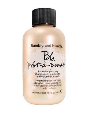 Bumble and bumble. PRÊT-A-POWDER