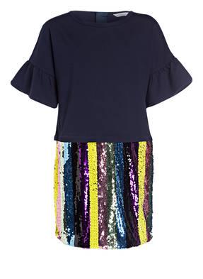LITTLE MARC JACOBS Kleid mit Paillettenbesatz