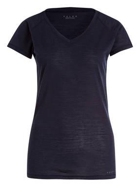 FALKE Funktionswäsche-Shirt aus Merinowolle/Seide-Gemisch