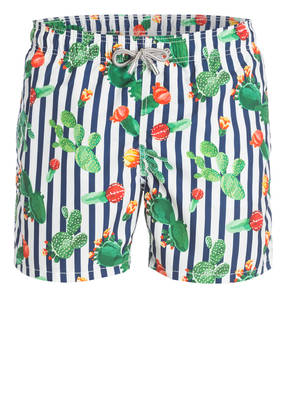 MC2 SAINT BARTH Badeshorts GUSTAVIA EXOTIC CACTUS
