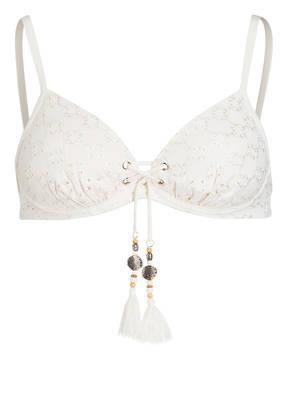 watercult Bügel-Bikini-Top BEACH BROIDERIE mit Lochstickerei