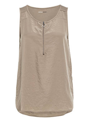 MARCCAIN Top im Materialmix