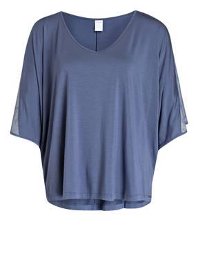 Calvin Klein Lounge-Shirt mit Mesh-Besatz