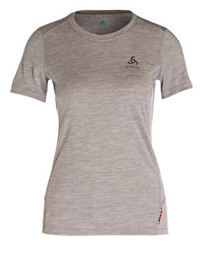 odlo Funktionwäsche-Shirt NATURAL aus Merinowolle