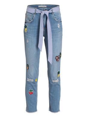 oui Cropped-Jeans