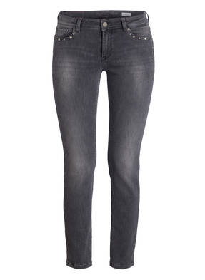 RAFFAELLO ROSSI Skinny-Jeans VIC mit Schmucksteinbesatz
