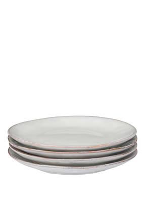 BROSTE COPENHAGEN 4er-Set Dessertteller