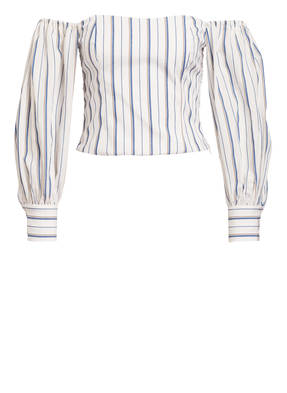 CLAUDIE PIERLOT Off-Shoulder-Bluse BRESKIA