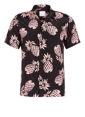 sandro Halbarm-Resorthemd Regular Fit