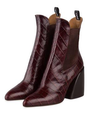Chloé Cowboy Boots WAVE