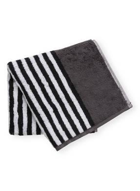 Cawö Handtuch BLACK & WHITE