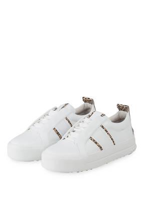check out 549e5 53187 KENNEL   SCHMENGER Plateau-Sneaker CALF