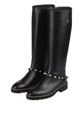 Die Damen Stiefelette Ava 5 von Aigner aus schwarzem