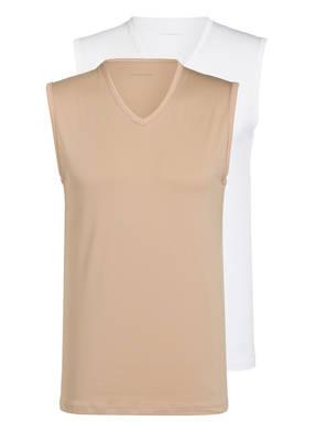 mey 2er-Pack Unterhemden Serie DRY COTTON