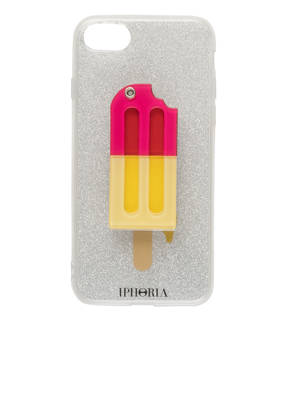 IPHORIA Smartphone-Hülle YELLOW PINK ICED-LOLLY