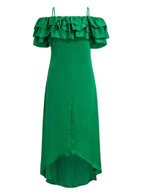 maje Off-Shoulder-Kleid