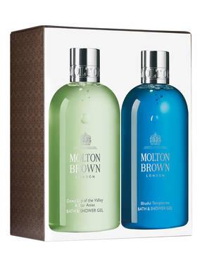 MOLTON BROWN BATH & SHOWER GEL DUO
