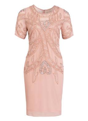 frock & frill Kleid mit Pailletten- und Schmucksteinbesatz