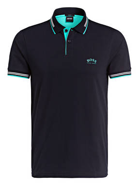 BOSS Piqué-Poloshirt PAUL CURVED Slim Fit
