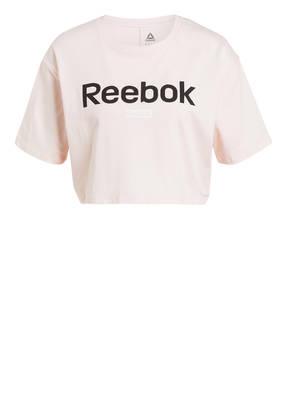 Reebok Cropped-Shirt ESSENTIALS LINEAR LOGO