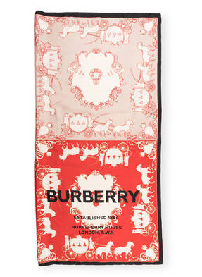 BURBERRY Seidentuch