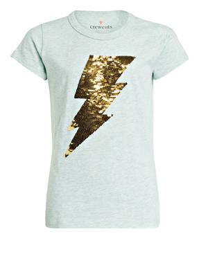 J.Crew T-Shirt LIGHTNING BOLT mit Wendepailletten