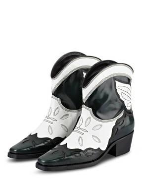 GANNI Cowboy Boots TEXAS LOW