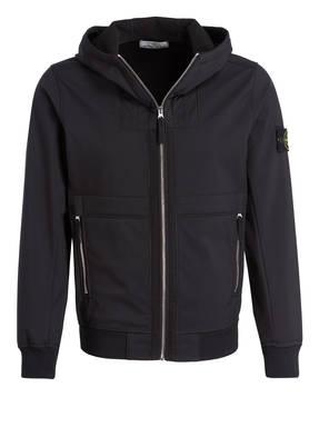 Schwarze STONE ISLAND Kunstfaser Jacken für Herren online