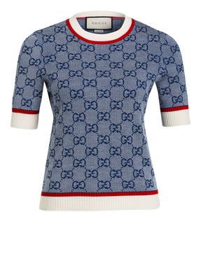 GUCCI Kurzarm-Pullover