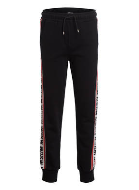 MSGM KIDS Sweatpants mit Galonstreifen