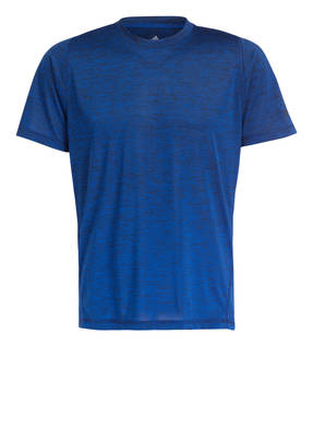 adidas Damen FreeLift Climalite T Shirt Dunkelrotmeliert
