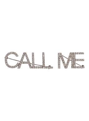 SAINT LAURENT 2er-Set Broschen CALL ME