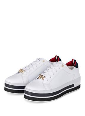 size 40 618b4 85099 Weisse TOMMY HILFIGER Schuhe online kaufen :: BREUNINGER