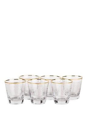 Bloomingville 6er-Set Gläser