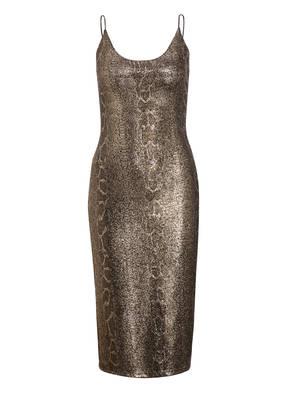 alice+olivia Kleid DELORA mit Glitzerbesatz