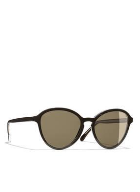 CHANEL Sunglasses Runde Sonnenbrille