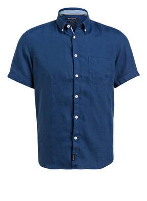 Marc O'Polo Halbarm-Leinenhemd Regular Fit