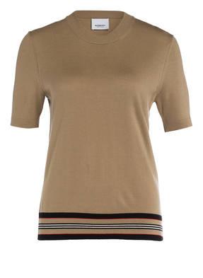 BURBERRY Strickshirt aus Merinowolle