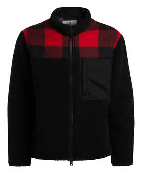 big sale 15fdd 35461 Jacke im Materialmix