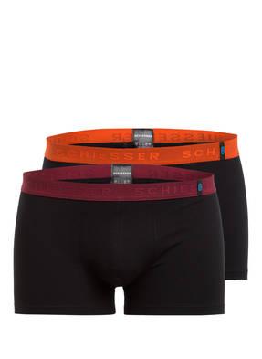 SCHIESSER 2er-Pack Boxershorts