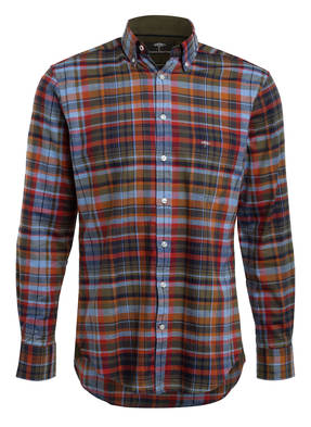 FYNCH-HATTON Flanellhemd Regular Fit
