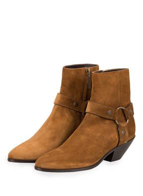 SAINT LAURENT Cowboy Boots WEST HARNESS