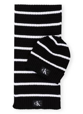 Calvin Klein Jeans Set: Schal und Mütze