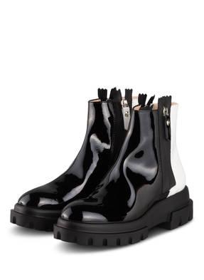 AGL ATTILIO GIUSTI LEOMBRUNI Lack-Boots