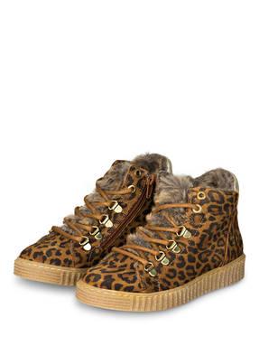 BULLBOXER Hightop-Sneaker mit Kunstfellfutter